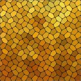 Placa de pedra que pavimenta o teste padrão O hexágono arredondado colorido geométrico do sumário dá forma à textura do vetor do  ilustração royalty free
