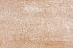 Placa de piedra beige con el grano Fotografía de archivo libre de regalías