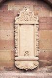 Placa de piedra en blanco Imagen de archivo