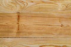 Placa de planeamento do pinho connosco imagem de stock
