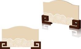 Placa de puerta imágenes de archivo libres de regalías