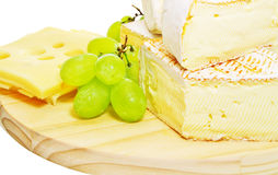 Placa de queijo fotos de stock royalty free