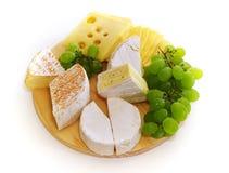 Placa de queijo Imagem de Stock