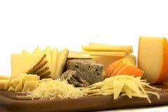Placa de queijo Fotografia de Stock Royalty Free