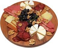 Placa de queso Imagen de archivo libre de regalías