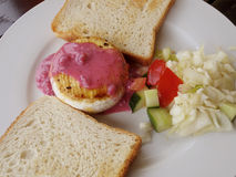 Placa de queso del camembert Fotos de archivo