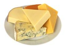 Placa de quesos Imagenes de archivo