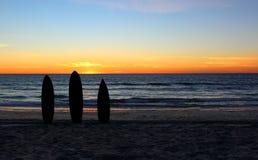 Placa de ressaca na costa de Garda fotos de stock royalty free