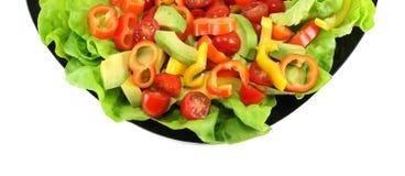 Placa de salada Imagem de Stock