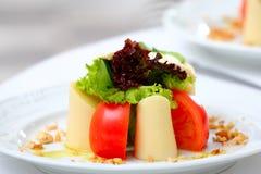 Placa de salada deliciosa Foto de Stock Royalty Free
