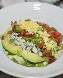 Placa de salada fresca foto de stock royalty free