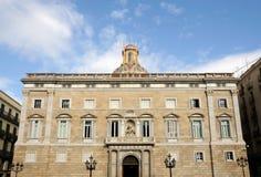 Placa de Sant Jaume, Barcelona Lizenzfreies Stockfoto