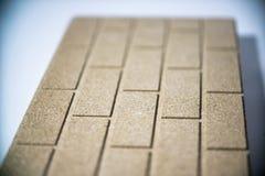 Placa de Termo feita do Vermiculite mineral Imagens de Stock Royalty Free