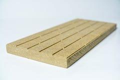 Placa de Termo feita do Vermiculite mineral Fotos de Stock Royalty Free