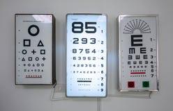 A placa de testes do bolso para a verificação do paciente no whit fotografia de stock
