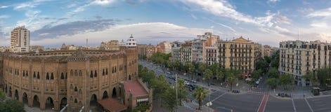 Placa de Toros Monumental - Bullring of Barcelona Stock Images