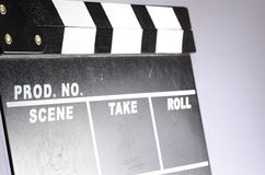 Placa de válvula do filme Fotos de Stock Royalty Free