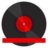 Placa de Vynil Imagen de archivo