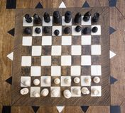 Placa de xadrez Imagens de Stock