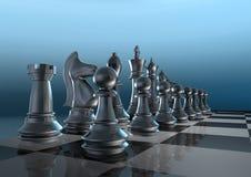 Placa de xadrez Foto de Stock