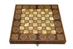 Placa de xadrez antiga Foto de Stock