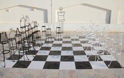 Placa de xadrez grande Imagem de Stock Royalty Free