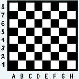 Placa de xadrez moderna Fotos de Stock Royalty Free