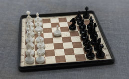 Placa de xadrez portátil 3 Imagem de Stock Royalty Free