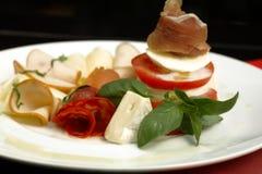 Placa del alimento Imagen de archivo