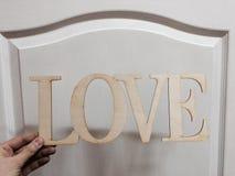 Placa del amor imagen de archivo