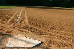 Placa del béisbol Fotos de archivo