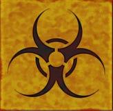 Placa del Biohazard ilustración del vector