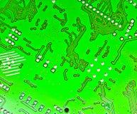 Placa del circuito electrónico Fotos de archivo libres de regalías