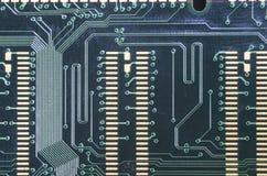 Placa del circuito electrónico Imagen de archivo