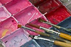 Placa del color Fotos de archivo libres de regalías
