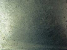 Placa del cromo del metal de Grunge Foto de archivo