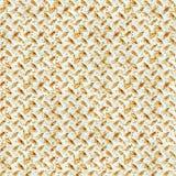 Placa del diamante - aherrumbrada Imagen de archivo libre de regalías