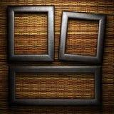 Placa del hierro en la pared Fotos de archivo libres de regalías
