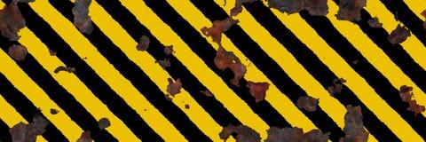Placa del peligro Foto de archivo libre de regalías