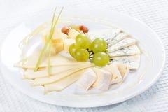 Placa del queso Imagen de archivo