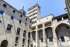 Placa del Rei, Barcelona Stock Image