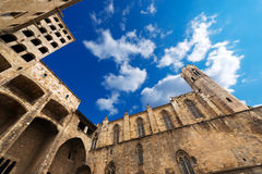 Placa del Rei - Barcelona Spain Royalty Free Stock Photography