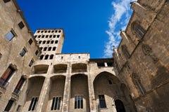 Placa Del Reja, Barcelona Hiszpania - Zdjęcie Royalty Free