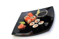 Placa del sushi Fotos de archivo