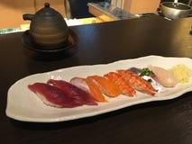 Placa del sushi Foto de archivo