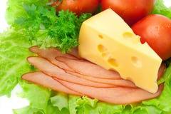 Placa do alimento Fotografia de Stock
