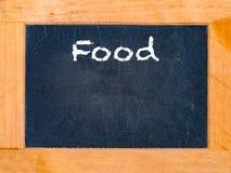 A placa do alimento Fotografia de Stock Royalty Free
