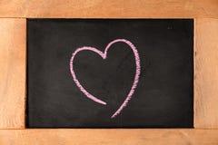 Placa do amor Imagem de Stock