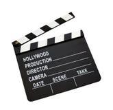 Placa do aplauso da película imagens de stock royalty free