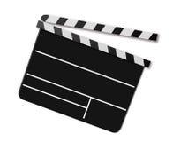 Placa do aplauso do filme Fotos de Stock Royalty Free